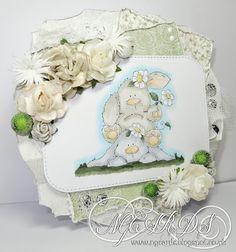 My Mums Craft Shop, Bunny Pile, Stamping Bella, Stuffies, Natalie Grantham, Design Team, Cards,