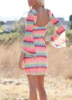 Beautiful chevron dress from MVB