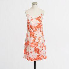 J.Crew Factory - Factory printed tank dress
