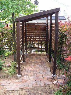 Patio, Backyard, Bike Shelter, Range Velo, Bike Shed, Bike Storage, Outdoor Living, Outdoor Decor, Garden Spaces
