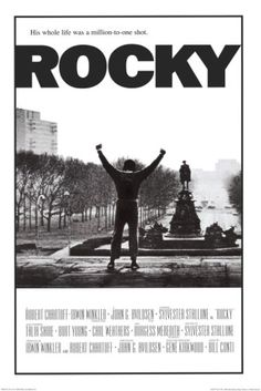 Rocky, PG: A small time boxer gets a once in a lifetime chance to fight the heavyweight champ in a bout in which he strives to go the distance for his self-respect.