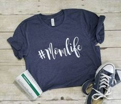 Your place to buy and sell all things handmade - Momlife Shirt - Ideas of Momlife Shirt - Momlife Shirt Mom Shirt Shirts for Moms Trendy Mom Mothers Day Shirts, Mom Shirts, T Shirts For Women, Teacher Shirts, Family Shirts, Vinyl Shirts, Custom Shirts, Mama T Shirt, Custom T Shirt Printing