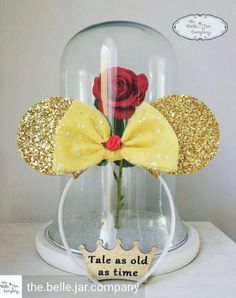 Made-To-Order Beauty and the Beast Inspired Minnie by lubyandlola