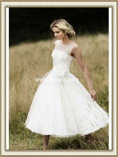 Simple Country Wedding Dresses | 2012 New Puffy Princess Ball Gown Simple Country Style Wedding Dress ...