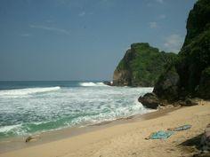 Ngunyahan Beach, Gunung Kidul, Yogyakarta