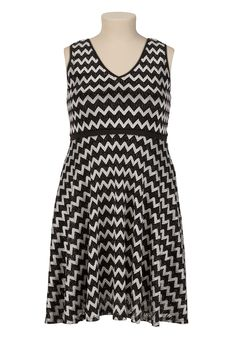 0ff11ffc Zig-Zag Lace Dress   plus size - maurices.com Canada Goose Parka,