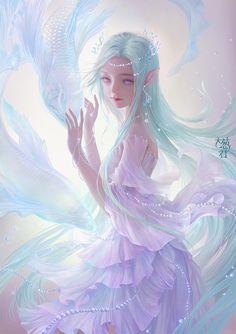 anime fantasy Top Hnh Nn Girl Xinh V Tay p Nht Dark Fantasy Art, Anime Fantasy, Fantasy Artwork, Elfen Fantasy, Beautiful Fantasy Art, Beautiful Anime Girl, Fantasy Girl, Fantasy Makeup, Kawaii Anime Girl