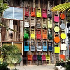 Image result for bold color chairs
