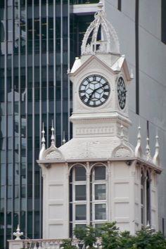 Victoria Clock Tower in Singapore