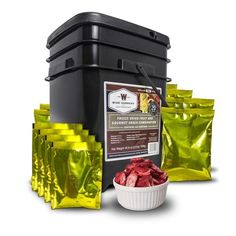 Solar Sporting Goods Wise Foods 120 Serving Freeze Dried Fruit and Gourmet Snack Combination Off Grid Survival Fruit Snacks, Fruit Recipes, Fruit Food, Fruit Yogurt, Wise Food Storage, Long Term Food Storage, Apocalypse Now, Wise Foods, Emergency Food Supply