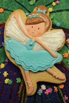 Bailarina Cookies For Kids, Fancy Cookies, Sweet Cookies, Iced Cookies, Cute Cookies, Royal Icing Cookies, Yummy Cookies, Sugar Cookies, Mini Tortillas