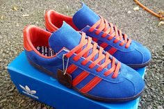 Adidas Spiritus Spezial 2017 look even better with the red laces