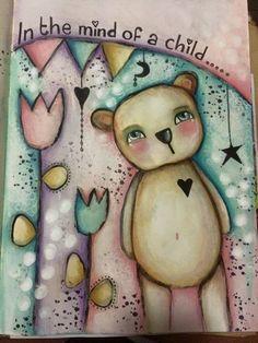 (12) Tracy Scott - Photos from Tracy Scott's post in Art Journal Junkies