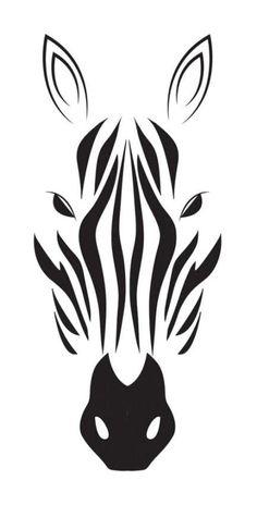 Stencils, Stencil Art, Animal Stencil, Silhouette Art, Silhouette Projects, Animal Silhouette, Zebra Drawing, Stencil Patterns, Stencil Templates