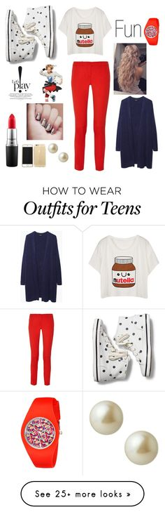 """""""Fun and Free!"""" by elliehope88 on Polyvore featuring Keds, Michael Kors, Zucca, MAC Cosmetics and Carolee"""