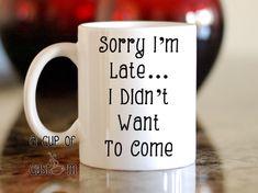 Custom coffee mug-Personalized coffee mug - Customized mug - Unique Coffee Mugs - Coffee Mug - Birthday Gift - Tea Cup -Funny Mug Unique Coffee Mugs, Cool Mugs, Funny Coffee Mugs, Coffee Humor, Funny Mugs, I Love Coffee, My Coffee, Coffee Cups, Starbucks Coffee