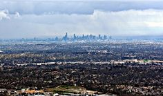 View from Sky High on Mt Dandenong, looking toward Melbourne city. Melbourne Victoria, Old Building, Sky High, Paris Skyline, Europe, Australia, City, World, Places