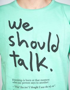 We Should Talk - Thinking Mu