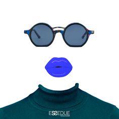Essedue Sunglasses Handmade and Designed in Italy Circle Sunglasses, Handmade Design, Pop Art, Vintage, Fashion, Glasses, Moda, Art Pop, La Mode