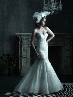 Allure Couture C200 Mermaid Wedding Dress