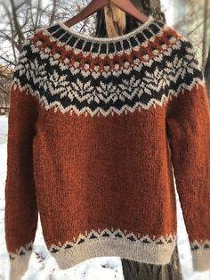Vintage Sweaters, Wool Sweaters, Punto Fair Isle, Fair Isle Knitting Patterns, Icelandic Sweaters, Stylish Dresses For Girls, Vintage Cotton, Long Sleeve Sweater, Vintage Ladies