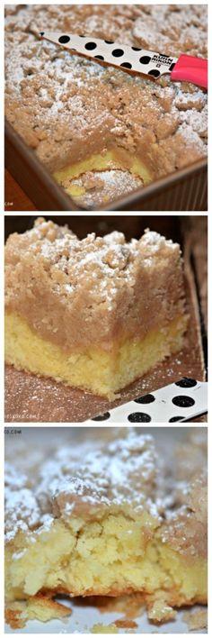 Shortcut Crumb Cake - Hugs and Cookies XOXO