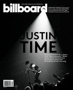 Justin Bieber's Fourth Billboard Cover!