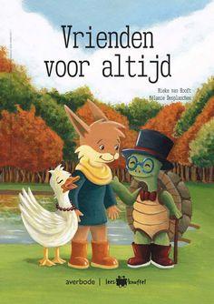 Vrienden voor altijd - Mieke van Hooft, Mélanie Desplanches - plaatsnr. K VOO/001 #Dieren #Zwemmen #Vriendschap