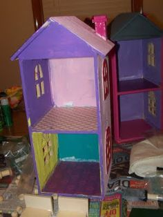 Clare's Contemplations: Mini Doll Houses