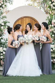 bridesmaid dress idea; photo: Tauran Woo