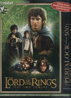 The Lord of the Rings - The Two Towers 500 Piece Puzzle