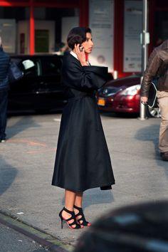 Princess in the house. #DeenaAbdulaziz in NYC.