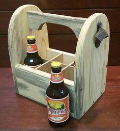 Carrito con abridor de botella cerveza  bebida Caddy con