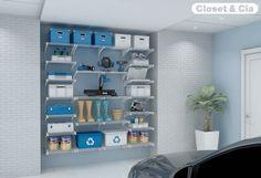 Garagens Planejadas - Closet & Cia - Armários Planejados