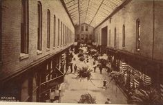 Arcade - the mall before there were malls! R.I.P. thanks to a criminal act by the city of Springfield