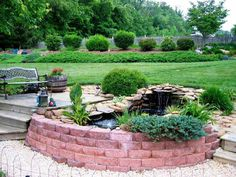 Backyard fountains ideas for outdoor decoration options small backyard deck garden design with small koi fish ponds and planting plants