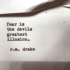 quote, fear, and illusion image