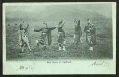 The Reel o' Tulloch - Highland Dancers - Pipers - Scotland - Ref 40-354