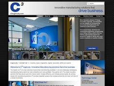 B2 Web Studios' Joomla website design for C3 Corporation in Appleton, Wisconsin - http://c3ingenuity.com