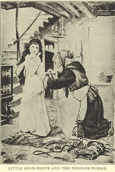 Little Snow-White and the Peddler-Woman.