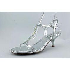 Unlisted Kenneth Col Kinda Happy Women US 10 Silver Sandals Blemish UK 8 3592