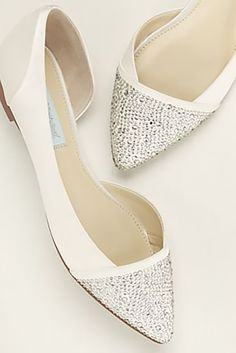 Gorgeous Bridal Flats | Wedding | Pinterest | Bridal Flats, Wedding Shoes  And Wedding