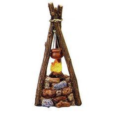 Fontanini LED Light Up Campfire Italian Nativity Village ...