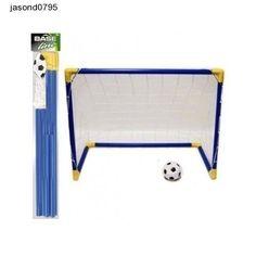 Kids Mini Soccer Football Plastic Goal Post Net Training Field Boys Girls Sports
