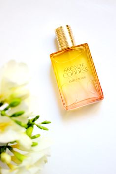 Flash back five or so years ago to my first encounter with Esteé Lauder's Bronze Goddess - I spritzed a little on myself and was fast on a mission to rub the scent off. Given the fact that two of the