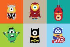http://www.les-petites-loutres.fr/tableaux-super-heros-minions/