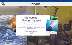 Digital experience to tie in with the O2 Priority TV campaign featuring Ed Sheeran.
