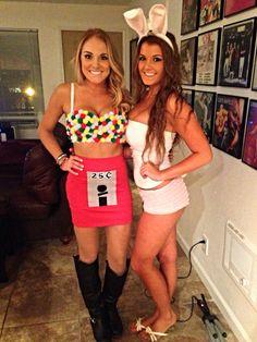 Gumball machine DIY Halloween costume..found my next costume