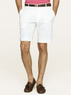 Stretch Twill James Short - Black Label Shorts - RalphLauren.com