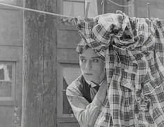"Buster Keaton in ""Neighbors"""